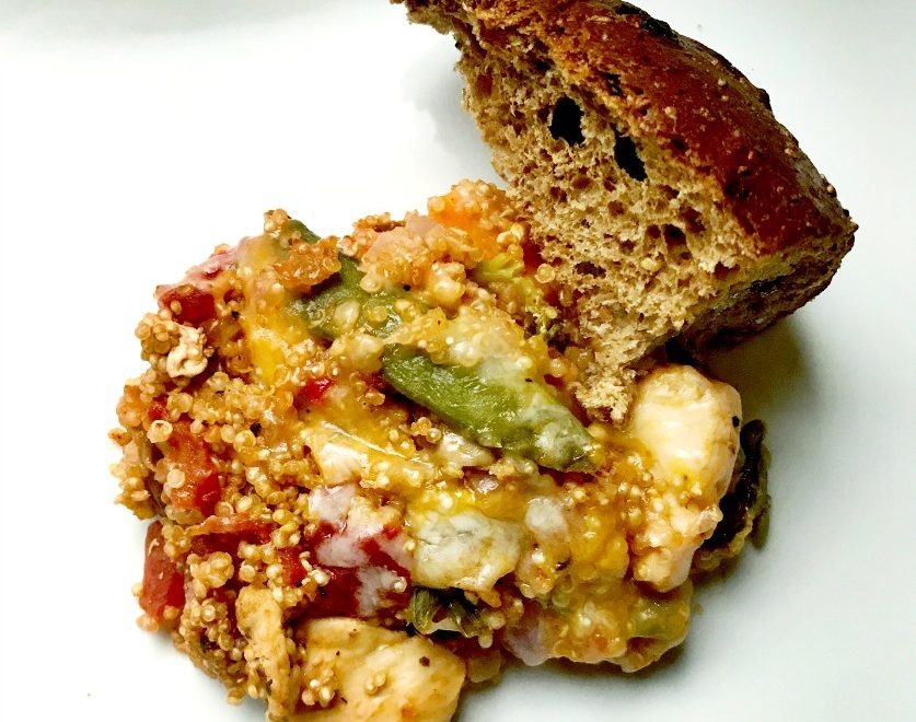 Easy and Healthy Chicken and Quinoa Bake