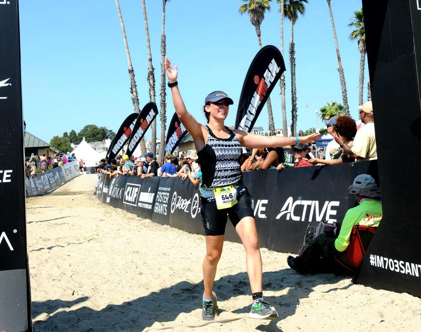Ironman 70.3 Santa Cruz Finish