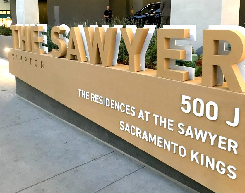 Kimpton Sawyer Sign